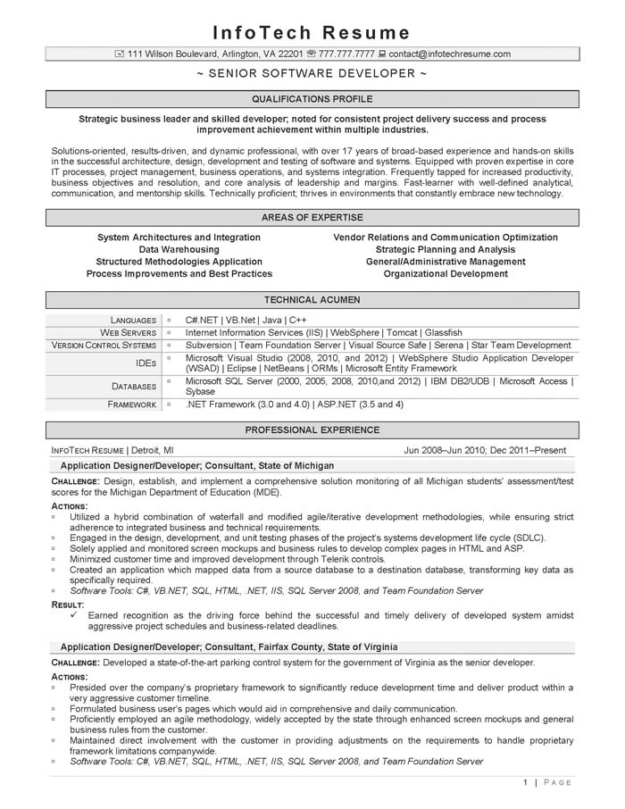resume for experienced mainframe developer 28 images